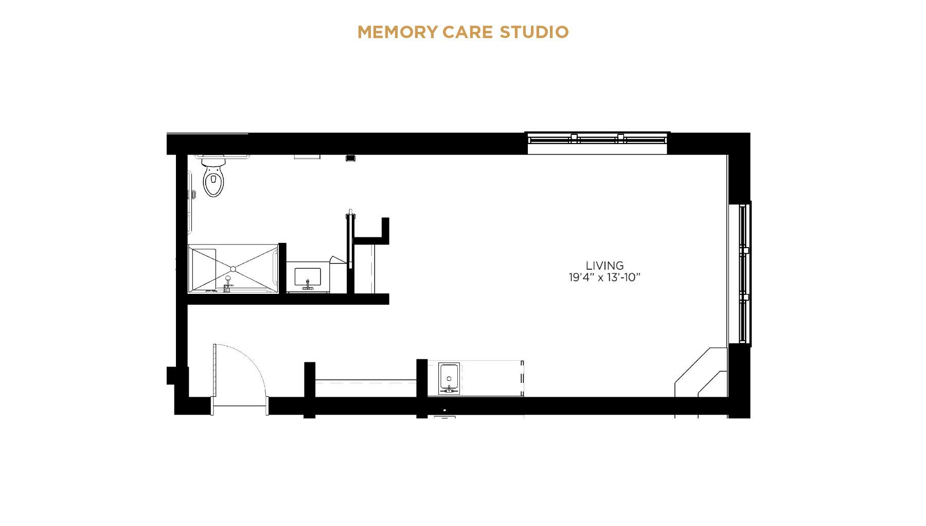 memory care floorplan