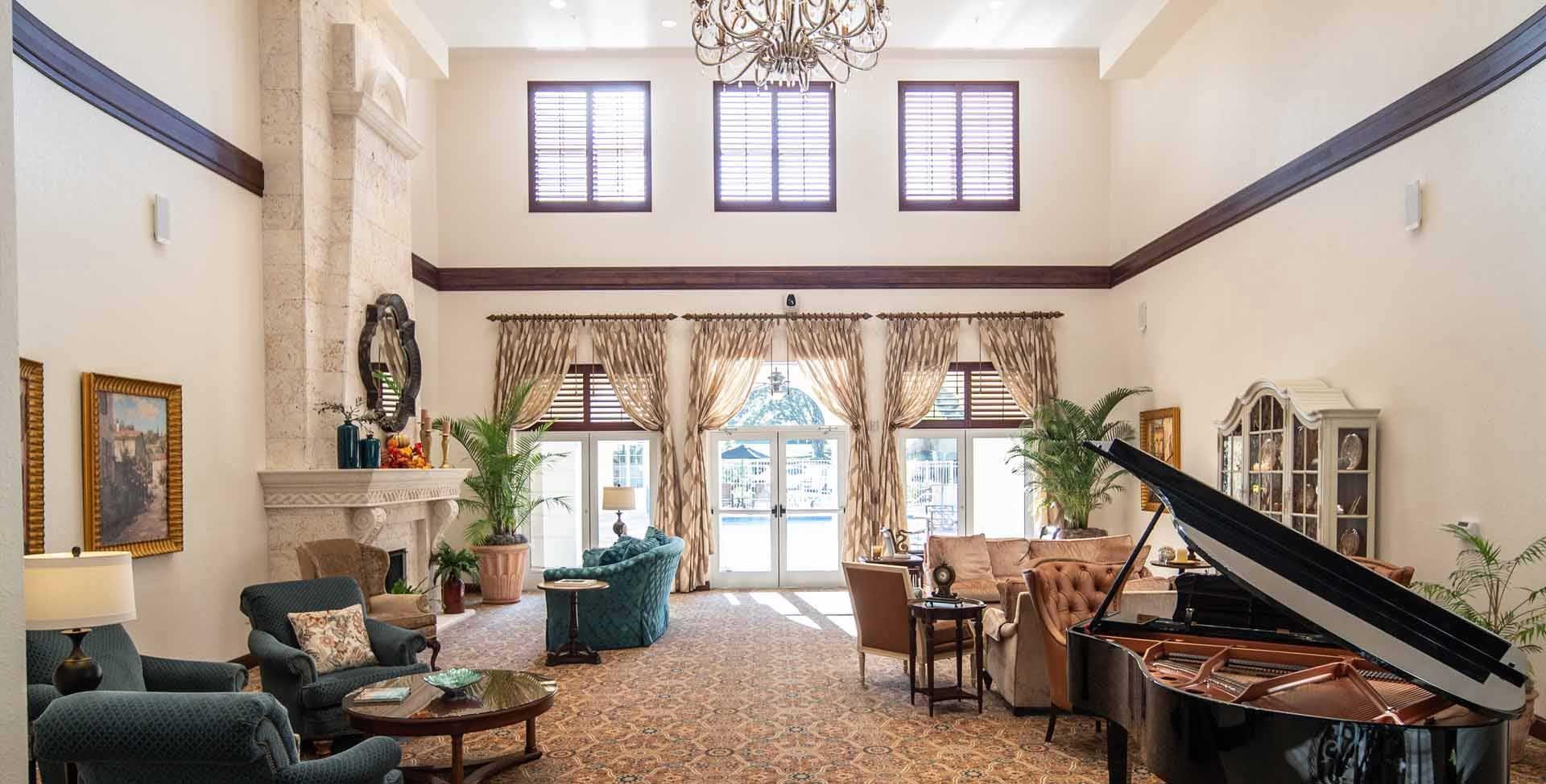 Grand Living Citrus Hills Piano Room