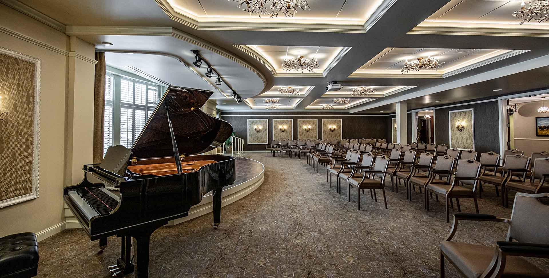 piano and theater senior living