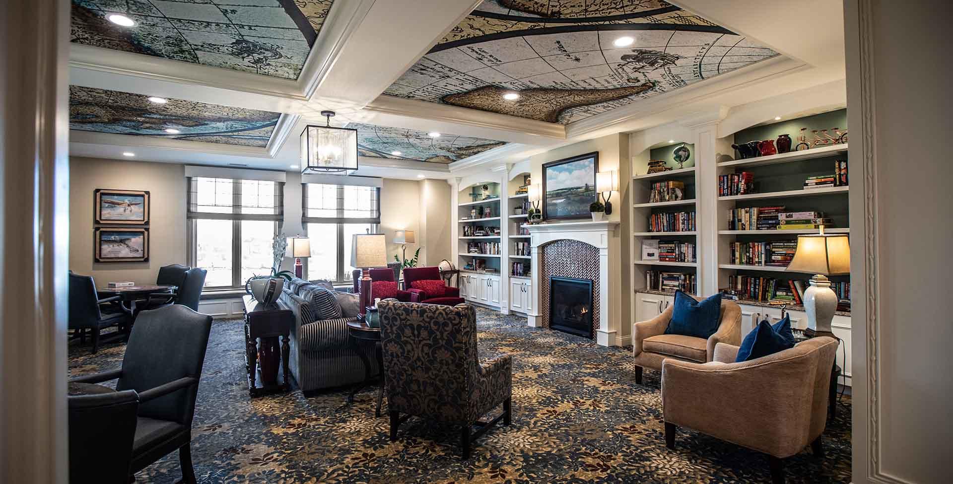 senior living library